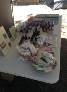 Auntie Kandy's Apothecary booth