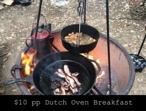 Dutch Oven breakfast