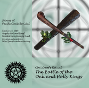 battle of the oak and holly kings