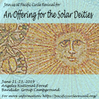 An offering for the solar deities